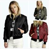 Fashion Manufacturer 2017 Bomber Jacket Coat Women