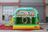 Inflatable Bouncy Slide Combo with Dinosaur Theme