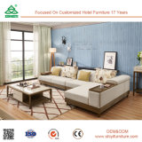 Chinese Furniture Wooden Fabric Sofa