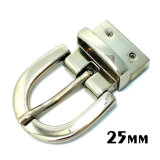 High Quality Metal Zinc Alloy Reversible Buckle Pin Belt Buckle for Dress Belts Garment Shoes Handbags (XWS-ZD441)