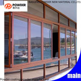 New Hot Thermosetting Epoxy Polyester Powder Coating for Aluminum Windows