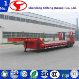 2 Axles 40FT Flat Bed Semi Trailer with High Efficiency