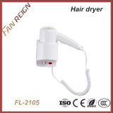 Ce Certificate Wall Mounted Hair Dryer Hotel for Restrooms