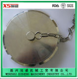 Stainless Steel Dn50 Ss304 Sanitary Blind Nut with Chain