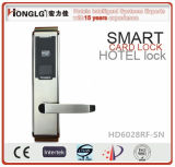 Honglg Factory Wireless Key Card Electronic Hotel Lock (HD6028)