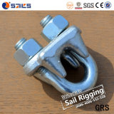 G450 Steel Galvanized Drop-Forged Us Type Wire Rope Clip (CE, SGS, BV, ISO)