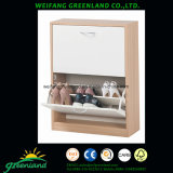 High Quality Wood Panels Shoes Cabinet