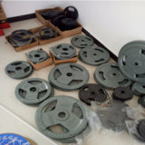 Cast Iron Bumper Plate for Olympic Barbell