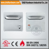 170X170mm Lever Handle with Plate for Bathroom (DDTP001)