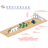 Complete Rubber Production Line With Kneader Mixer