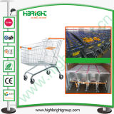 180 Litres Zinc Plated Supermarket Trolley Cart