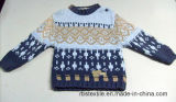 Boys Intarsia Acrylic Jumper - True Knitted Sweater