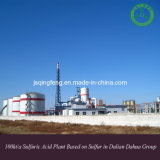 Dalian Dahua Group 100kt/a Sulfuric Acid Plant Based on Sulfur (QF-SAS)