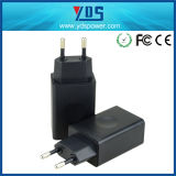 USB AC EU Wall Plug Charger Mobile Phone Fast Charger