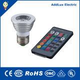 Remote Control 5W COB GU10 LED Spotlight Bulb