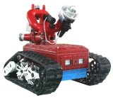 Fire Fighting Robot for Large Petrochemical Areas
