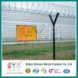 Airport Fence Security Perimeter Fence /Airport Barbed Wire Fence