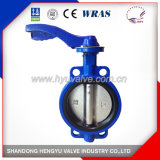 Wafer Type Butterfly Valve with Single Shaft Design for Industrial Use