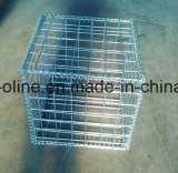 Decorative Welded Galvanized Gabion Box for Wall