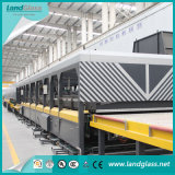 Landglass Jet Convection Horizontal Glass Making Equipment for Tempering Glass