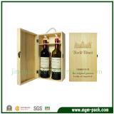 High Quality Wood Wine Case with Tools