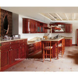 2016 Welbom Crystal Solid Wood Kitchen Cabinet