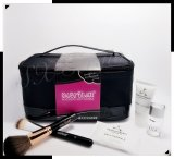 Polyester PU Cosmetic Case Cosmetic Make up Bag