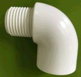 Male Thread 90deg Elbow PVC Raw Material ASTM Thread for Supply Water Sch40 D2466