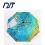 Creative Fully Automatic Seventy Percent off World Map Umbrella