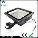 Black Frame Waterproof 30 Watt Sensor Flood Light LED