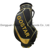 Deluxe Black PU Golf Staff Bag (GL-9119)