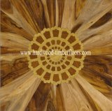 Teak Walnut Parquet Wood Floor