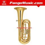 Bb Tone Gold Lacquer Tuba (Pango PMBB-3900)