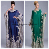 Plus Size Mother of Bride Dresses Lace Arabia Mother′s Evening Dress Z1004