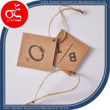 Factory Price Kraft Paper Tag for Garment Tag/Jeans