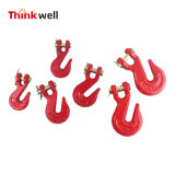 G70 G43 Red Painted Clevis Grab Hook