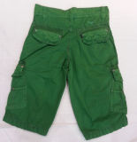 Men Fashion Garment Dyed Short Pants
