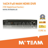 H. 264 16CH P2p 960h DVR with HDMI Output (MVT-6516D)