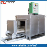die oven in aluminum extrusion machine
