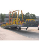 12t Mobile Electric Hydraulic Container Loading Ramp, Mobile Container Loading Ramp