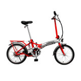 Colorful Electric Bike Folded E Bike Foldable Scooter Motorcycle Folding Frame All Ai Alloy