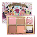 Famous Brand 4colors Eyeshadow Palette with Brush Highlighter