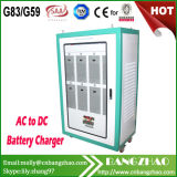 AC 415V to DC 360V Solar Battery 80A Automatic Battery Charger Cabinet