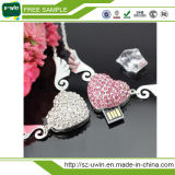 Heart Shaped Jewellery USB Flash Drive, Diamond USB Disk