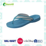 Men′s Slippers with EVA Sole and PVC Straps, Lignt Wear Feeling