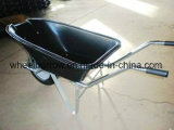 Agricultural Tools with Plastic Tray Wheelbarrow (WB7800)