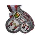 Custom Supply Enamel 3D Medal with Competitive Price