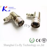 12, 17, 19 Pin Screw Lock/ Solder M23 Elbow Field Assembly Connector