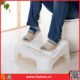 2017 New Design Adjustable Toilet Plastic Foot Stool