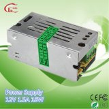 12V 1.5A 18W Mini Size Switching Power Supply
